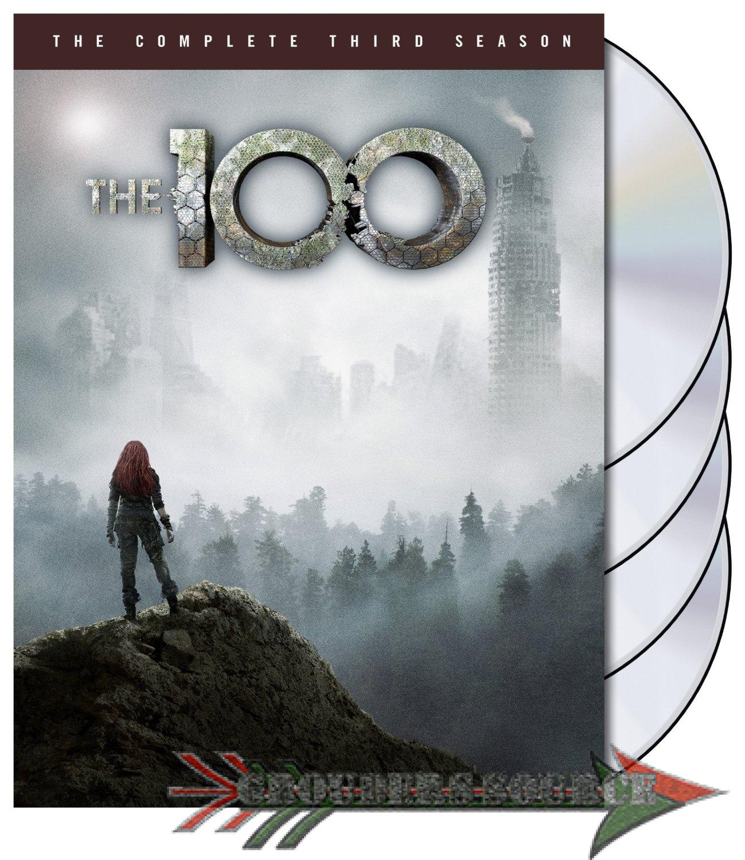 The 100 Season Three DVD Cover Art