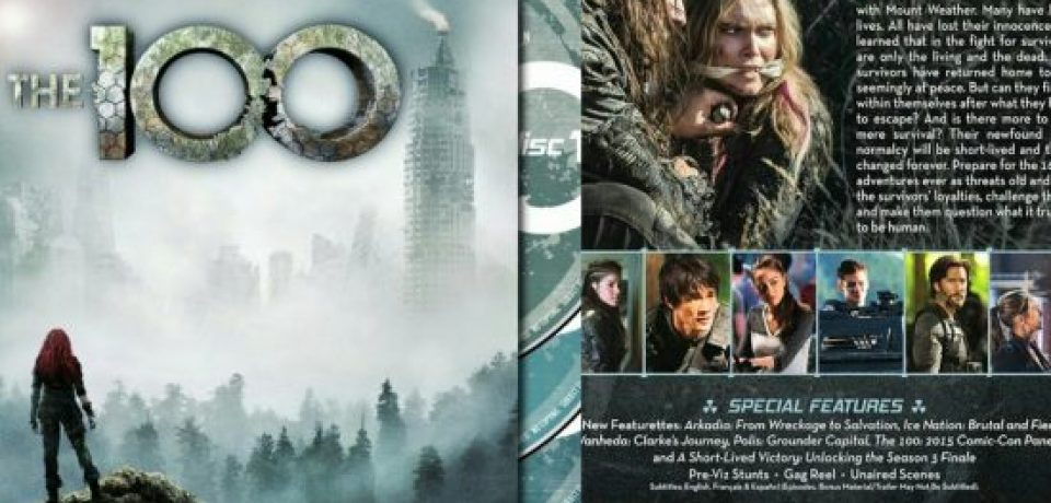 The 100 Season Three DVD Giveaway