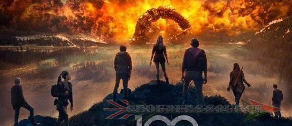 The 100 Season Four Poster
